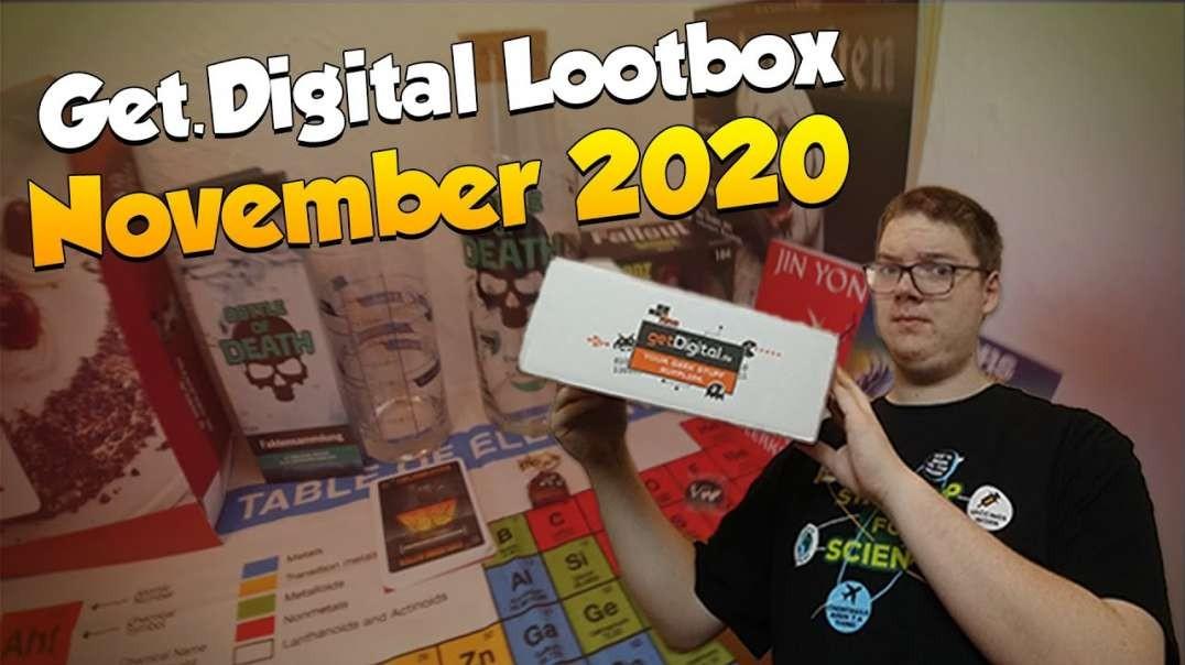 GETDIGITAL LOOTBOX   UNBOXING ? November 2020