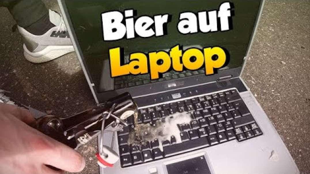 Bier auf Laptop verschüttet ?? - Was tun   MinersWin